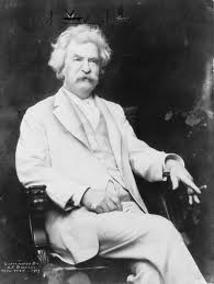 Mark Twain - The first literary notable from hereabouts.